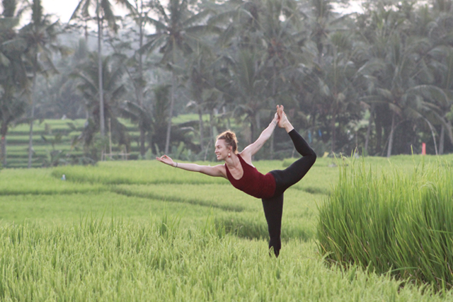 Yoga Dancer in Bali