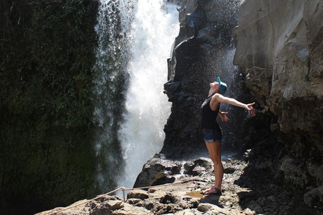 Bali Waterfall Yoga