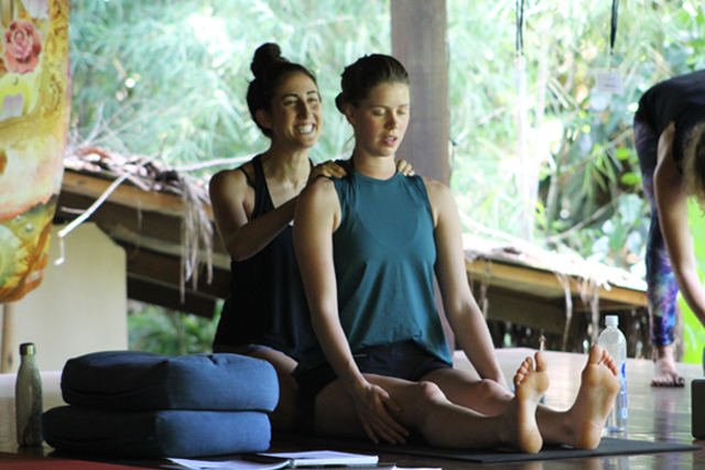 yoga massage in bali