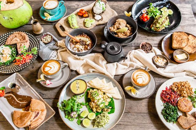 Bali yoga breakfast