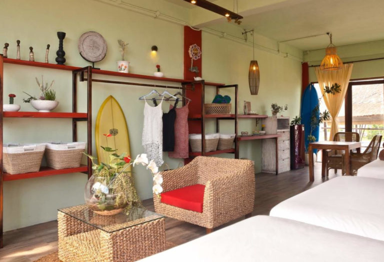 Bali Yoga Retreat Room