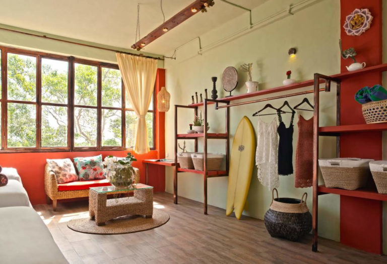 Bali Yoga Retreat Training Room
