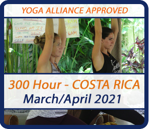 costa rica yoga training 300 hour